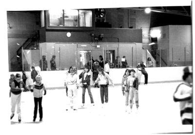 Ice Skating in Terrace Bay