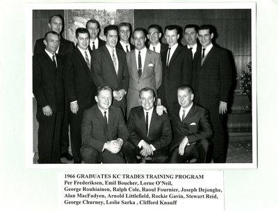 Kimberly-Clark Training Graduates, 1966