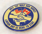 Labour Day Pin