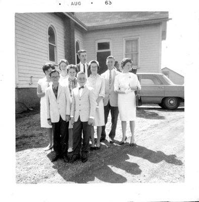 Confirmation Sulphide United Church 1963
