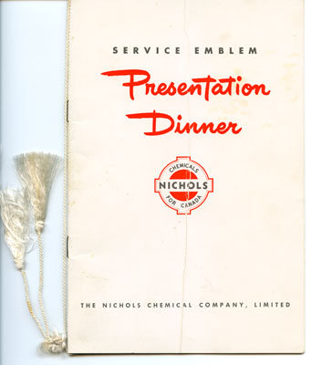 Service Emblem Presentation Dinner Program