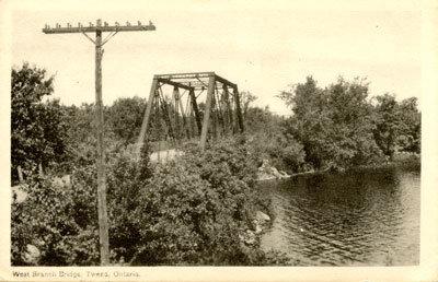 West Branch Bridge, Tweed, Ontario