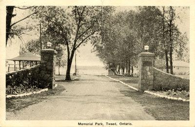 Memorial Park, Tweed, Ontario