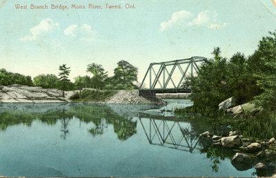 West Branch Bridge, Moira River, Tweed, Ontario