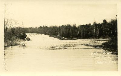 Moira River and Falls, Deloro, Ont.
