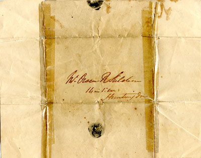 Letter Regarding Land Deed