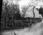Old home (Alexander MacNeill's) - large gable view, ca.1890's.  Cavendish, P.E.I.