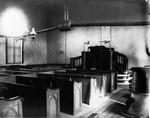Interior Old Presbyterian Church, ca.1890.  Cavendish, P.E.I.