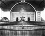 Interior of New Presbyterian Church, ca.1890's.  Cavendish, P.E.I.