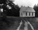 Exterior view of Old Baptist Church, ca.1890's.  Cavendish, P.E.I.