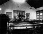 Interior of New Baptist Church, ca.1902.  Cavendish, P.E.I.