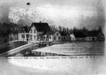 Drawing of Park Corner Estate.  (The Montgomery Clan), ca.1880.  Park Corner, P.E.I.