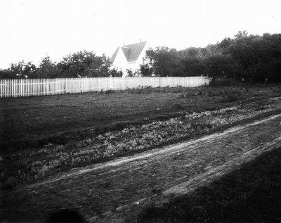 Park Corner Estate.  (The Campbell House), ca.1892.  Distant view, Park Corner, P.E.I.