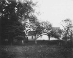 Old home (Alexander Macneill's) - front view, ca.1890's.  Cavendish, P.E.I.