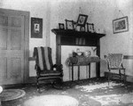 Old home.  Mantel view, ca.1895.  Cavendish, P.E.I.