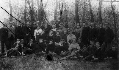 1st year students, ca.1893-95.  Charlottetown, P.E.I.