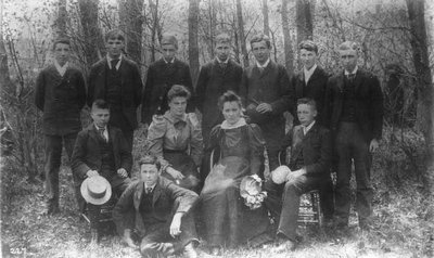 3rd year students, ca.1893-95.  Charlottetown, P.E.I.
