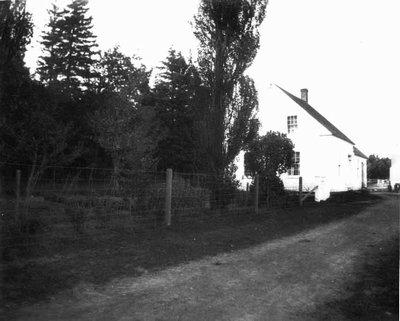 View of William Houston's Home, ca.1903.  Cavendish, P.E.I.