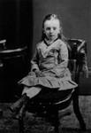 Lucy Maud Montgomery age 6, ca.1880.  Cavendish, P.E.I.