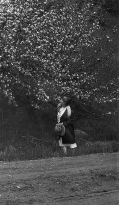Lucy Maud Montgomery, ca.1927.  Norval, ON.