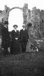 Ewan, George Boyd MacMillan & fiancee, 1911.  Scotland.