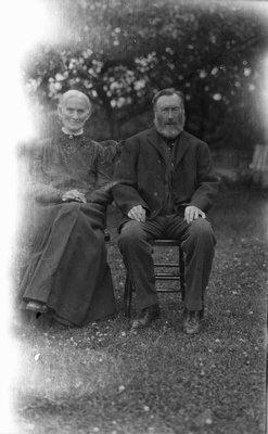 Ewan Macdonald's parents, sometime before Nov. 1914.  Bellevue? P.E.I.