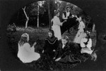 P.E.I. Cavendish school children, ca.1890's.  Cavendish, P.E.I.