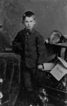 Young Fred Macneill, ca.1890's.  Cavendish, P.E.I.