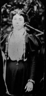 Stella Campbell, ca.1890's.  Cavendish, P.E.I.