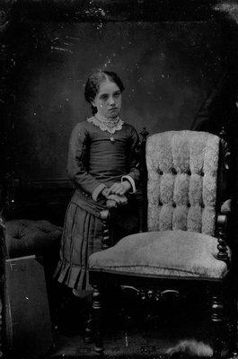 Amanda Macneill, ca.1880's.  Cavendish, P.E.I.