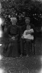 Ewan Macdonald with son Chester & Ewan's mother Christie Cameron Macdonald, ca.1913.  Cavendish, P.E.I.