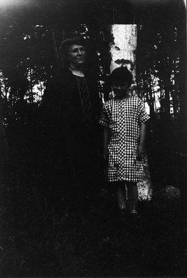 Ella & child, ca.1880's.  Park Corner, P.E.I.