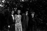 Myrtle Webb, May, Alec, Ella, ca.1890's.  Park Corner, P.E.I.