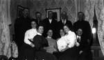 Long River Church Choir.  Stella Campbell in front row, ca. 1890's.  Park Corner, P.E.I.