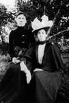 Tillie & Amanda MacNeill, ca.1900.  Cavendish, P.E.I.