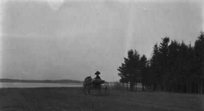 Bertie McIntyre, ca.1912.  Cavendish, P.E.I.
