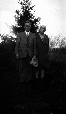 Mr. & Mrs. Fred Wright, Leaskdale, ON.