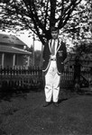 Chester home from St. Andrews, age 14, ca.1926.  Leaskdale, ON.