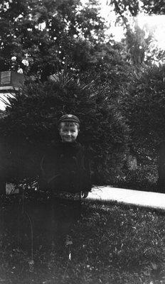 Stuart age 4, ca.1919.  Leaskdale, ON.