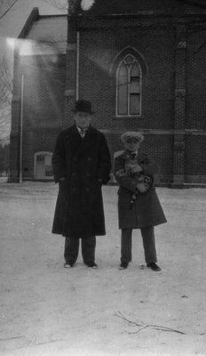 Stuart & Chester at Norval, ON.