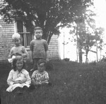 Stuart, Chester, Ian & Doris Stirling, ca.1918.  P.E.I.