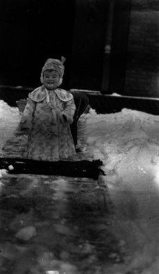 Stuart 14 months, ca.1917.  Leaskdale, ON.