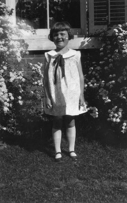 Helen Mason (maids child), ca.1930?.  Norval, ON.
