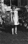 Helen Mason (maids child), ca.1930?.  Norval, ON.