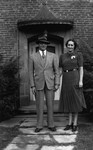 Evelyn & Dr. Mike Omdeis (?), ca.1930's.  Toronto, ON.