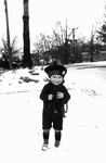 Cameron Macdonald (Chester's son), ca.1938.  Norval, ON.