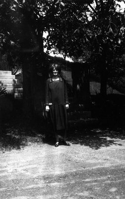 Lorrie Barraclough, ca.1928.  Norval, ON.