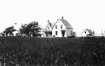 Albert MacNeill's home, ca.1890's.  Cavendish, P.E.I.