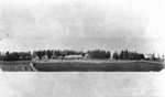 The Old home and Uncle John MacNeill's home, ca.1890's.  Cavendish, P.E.I.