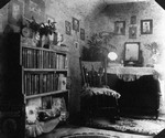 Lucy Maud Montgomery's old room in grandparents MacNeill's home, ca.1880's.  Cavendish, P.E.I.